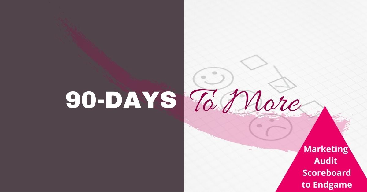 90 Days to More | Marketing Audit | Tricia Murray