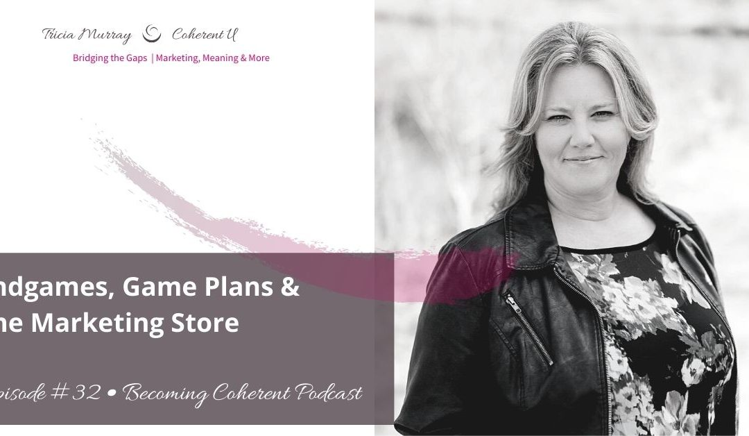 PODCAST #32 • Endgames, Game Plans & The Marketing Store