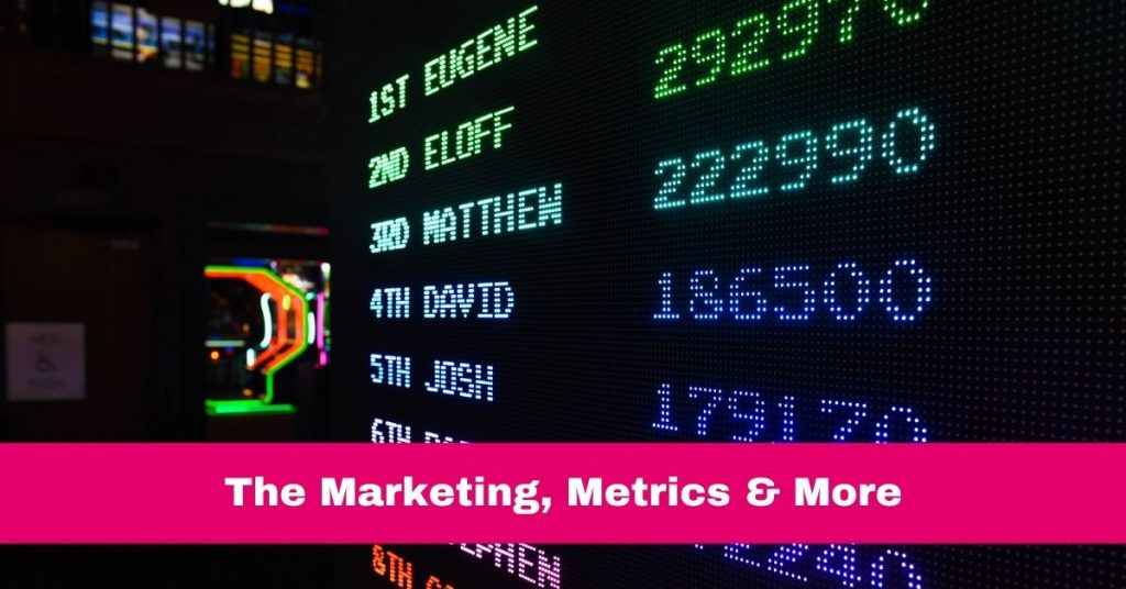 Tricia's Library | ARTICLE Marketing Metrics More