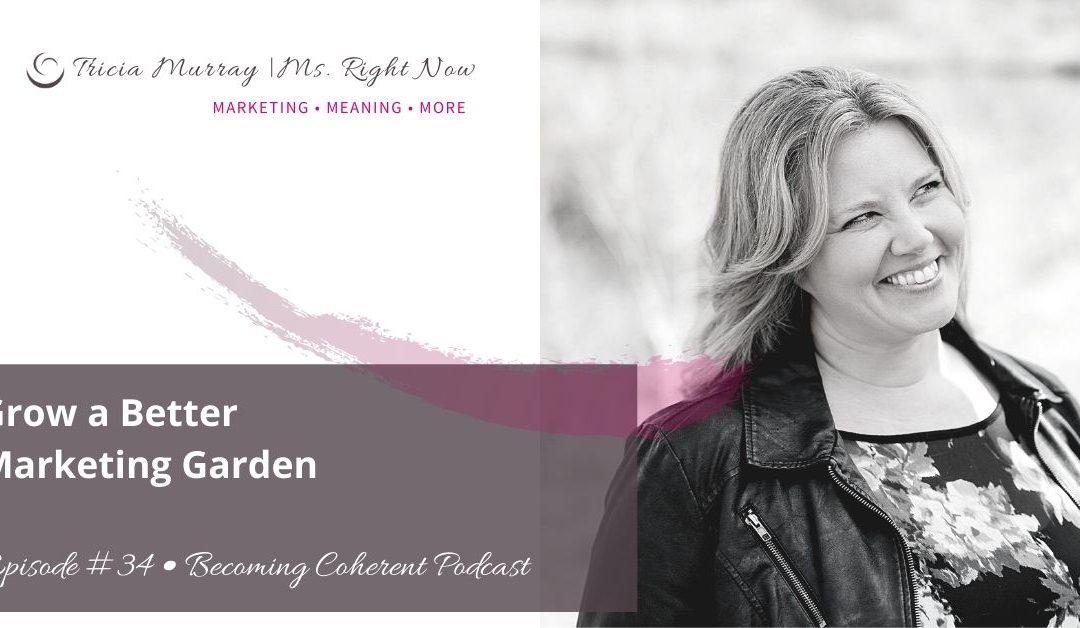 PODCAST #34: Grow a Better Marketing Garden